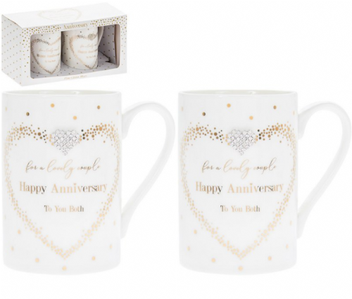 MAD DOTS ANNIVERSARY MUGS